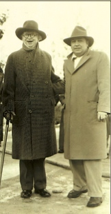 "Mayor Sam Coopwood (right) with Memphis Mayor Edward ""Boss"" Crump"