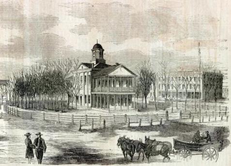 Original Marshall County Courthouse