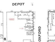 1892 Sanborn Map