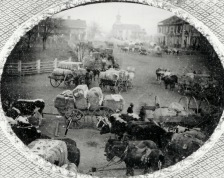 Part of South Holly Springs Square (c. 1857)