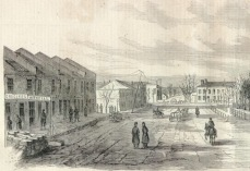 South Holly Springs Square (Drawing: 1862)