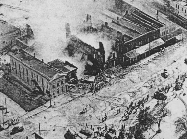 East Holly Springs Square (1951 fire)
