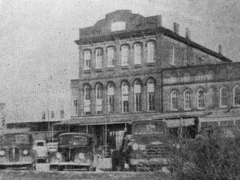 East Holly Springs Square (c. 1950)