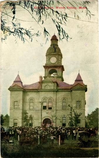 Yalobusha County Courthouse (circa 1910)