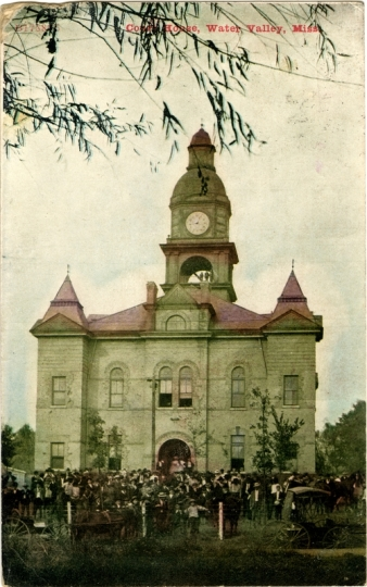 Yalobusha County Courthouse (circa 1910)
