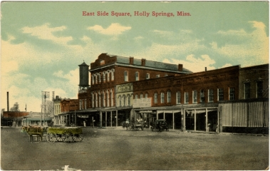 East Holly Springs Square (c. 1910)