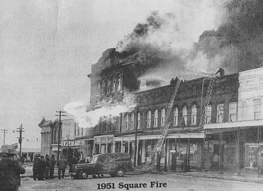 East Holly Springs Square (1951 fFire)