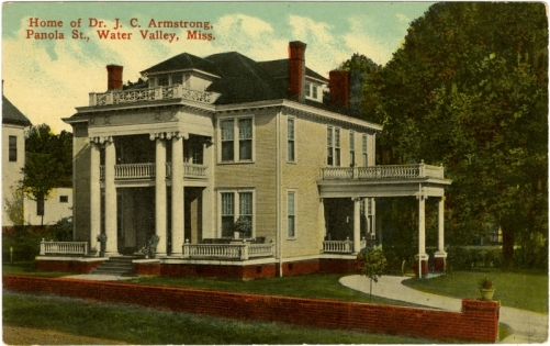 Old Water Valley Hospital (circa 1910)