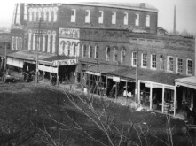 East Holly Springs Square (c. 1900)