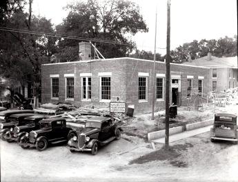Ripley Post Office Under construction (1937)