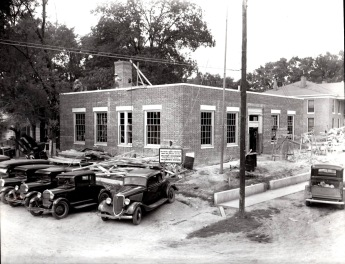 Ripley Post Office Under construction (1937)