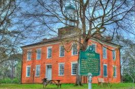 Jacinto Courthouse (1854)