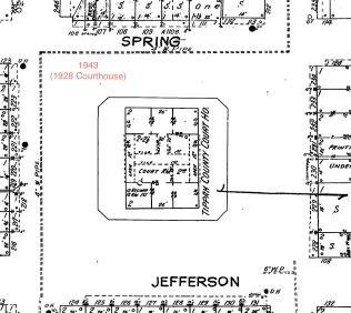 1943 Sanborn Map