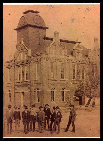 Original Tishomingo County Courthouse (c. 1880)