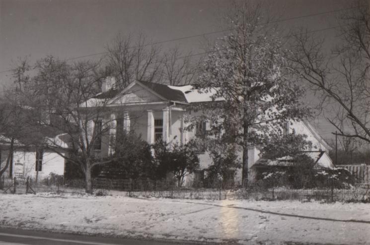 Taylor-Butler-Greene House (Suavatooky) (1838)
