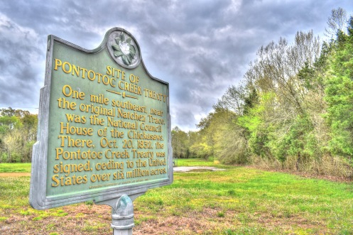 Site of Treaty of Pontotoc (1832)